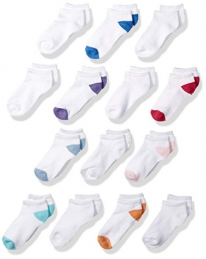ihocon: Amazon Essentials Kids' 14-Pack Cotton Low Cut Sock  童襪