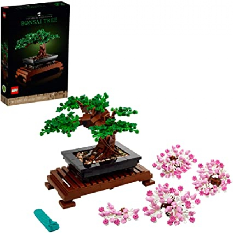 ihocon: [2021新款]LEGO Bonsai Tree 10281 Building Kit, New 2021 (878 Pieces) 樂高盆景積木