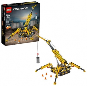 ihocon: LEGO Technic Compact Crawler Crane 42097 Building Kit (920 Pieces)起重機