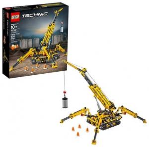 ihocon: LEGO Technic Compact Crawler Crane 42097 Building Kit (920 Pieces)起重機