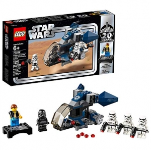 ihocon: [2019新品, 20週年紀念版] LEGO Star Wars Imperial Dropship – 20th Anniversary Edition 75262 Building Kit, New 2019 (125 Pieces)