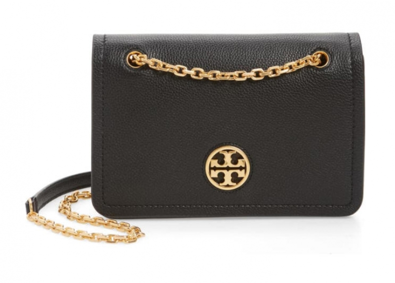 ihocon: TORY BURCH Carson Convertible Leather Crossbody Bag包包