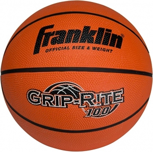 ihocon: Franklin Sports Grip-Rite 100 Rubber Basketball (Size 7) 籃球