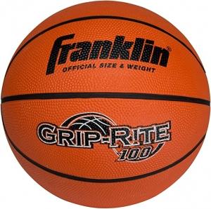ihocon: Franklin Sports Grip-Rite 100 Rubber Basketball (Size 7) 籃球