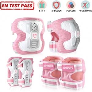 ihocon: CrzKo Kids/Youth Protective Gear 兒童護膝, 護腕, 護肘, 尺寸: M