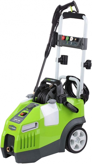 ihocon: Greenworks 1950 PSI 13 Amp 1.2 GPM Pressure Washer with Hose Reel GPW1950高壓強力清洗機