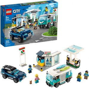 [2020年新款] LEGO City Service Station 60257 Pretend Play Toy Building Sets (354 Pieces) $39.99免運(原價$49.99)