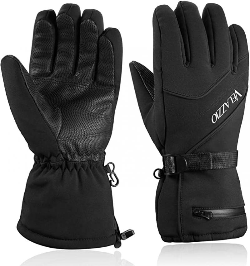 ihocon:  VELAZZIO Waterproof Breathable Ski Gloves, 3M Thinsulate Insulated  防水透氣手套