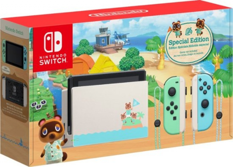 ihocon: Nintendo Switch - Animal Crossing: New Horizons Edition 32GB Console 主機+遊戲 (動物之森限定套裝)