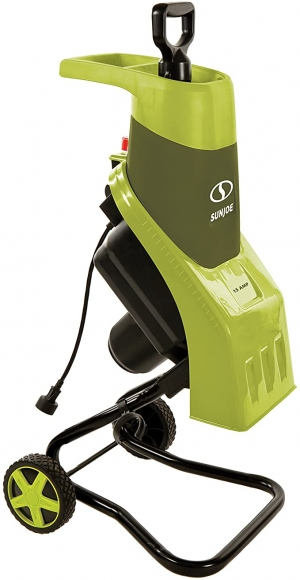 ihocon: Sun Joe CJ602E 15-Amp Electric Wood Chipper/Shredder, Green 電動碎樹枝機
