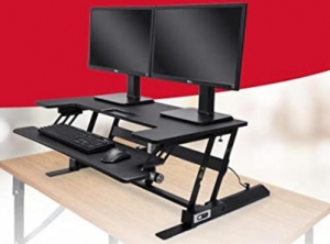 ihocon: Rosewill Height Adjustable Sit/Stand Computer Desk 電動升降電腦增高架