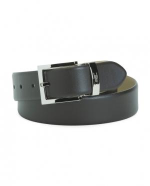 ihocon: ARMANI COLLEZIONI Made In Italy Leather Belt  意大利製男士皮帶