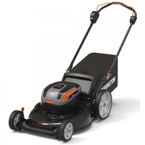 ihocon: Remington 21 in. 40-Volt Lithium-Ion 3-in-1 Cordless Walk Behind Push Mower - 5.0 Ah Battery/Charger Included 無線除草機含電池及充電器