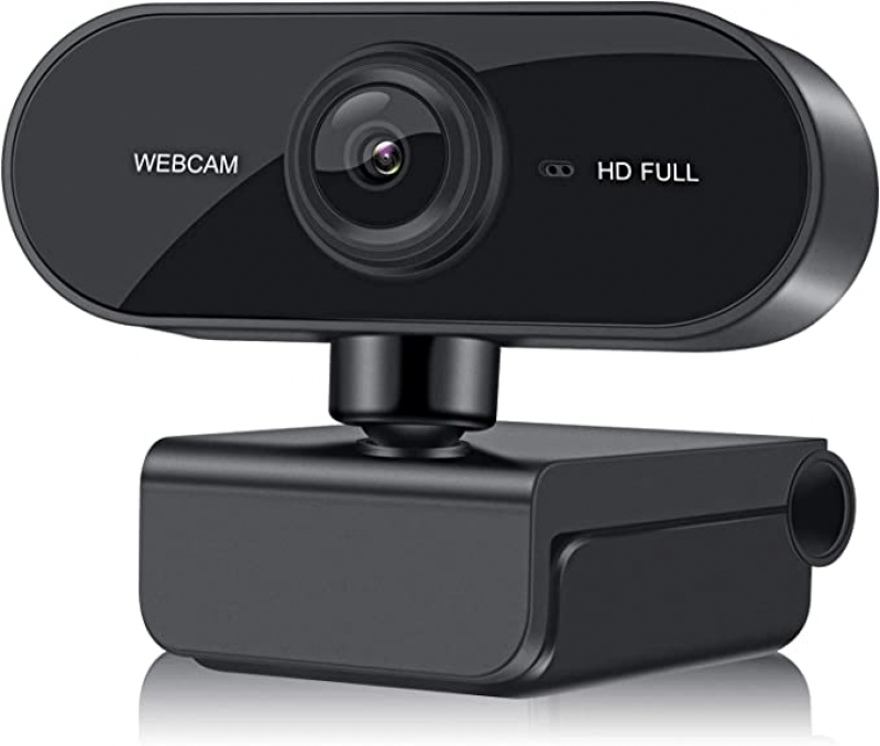 ihocon: Webcam 1080P HD Web Camera with Microphone高清網路攝像頭