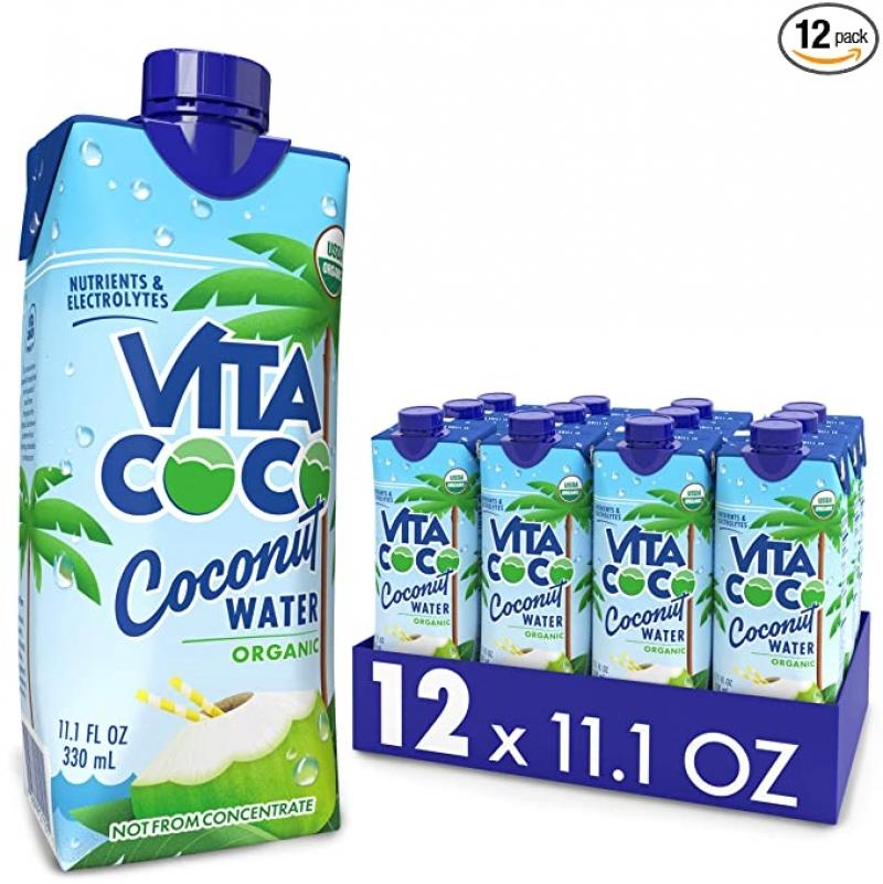 ihocon: Vita Coco Coconut Water, Pure Organic 11.1 Oz (Pack Of 12) 有機椰子水