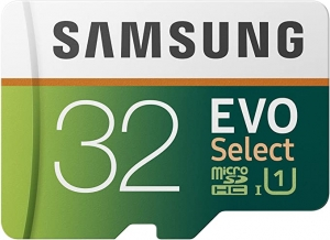 ihocon: Samsung 32GB 95MB/s (U1) microSDHC EVO Select Memory Card with Full-Size Adapter 記憶卡