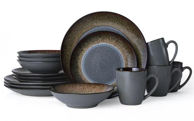 ihocon: Pfaltzgraff Monroe 16-Pc. Dinnerware Set, Service for 4 四人份餐具組(共16件)