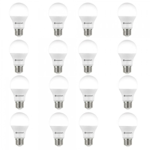 EcoSmart 60瓦 LED燈泡 16個 $14.16免運(原價$18.88)