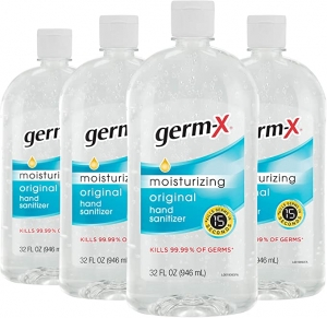 ihocon: Germ-X Hand Sanitizer, Original, 32 Fluid Ounce (Pack of 4), 128 Fl Ounce 手部消毒液/乾洗手