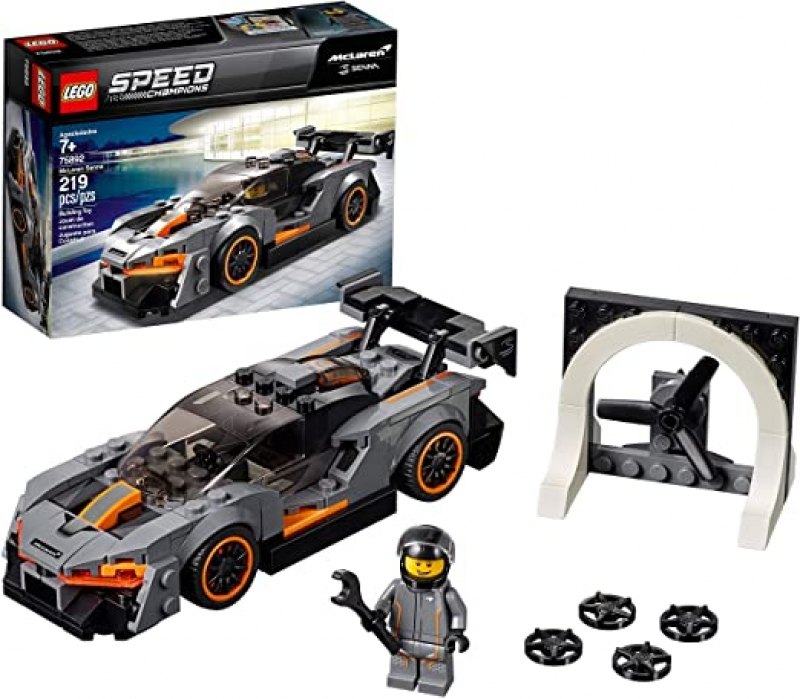 ihocon: LEGO Speed Champions McLaren Senna 75892 Building Kit (219 Pieces)