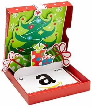 Amazon Gift Card送禮大方又實用, 附免費禮盒