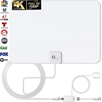 ihocon: 1byone Indoor TV Antenna, Amplified Digital HDTV Antenna - HD Antenna w… 室內電視天線,數字高清電視放大天線-高清天線