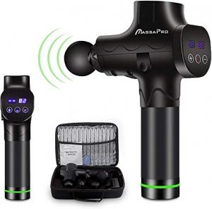 ihocon: Massa Pro 20 Adjustable Speeds Handheld Vibration Deep Tissue Muscle Massager Gun 深層按摩槍