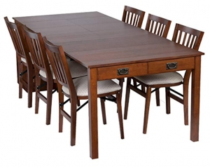ihocon: Stakmore Traditional Expanding Table Finish, Fruitwood 擴展桌面餐桌