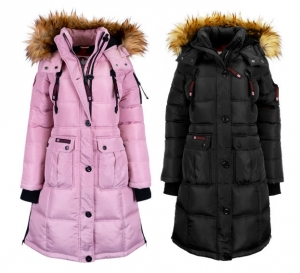 ihocon: Canada Weather Gear Women's Long Puffer Jacket   女士長款羽絨夾克