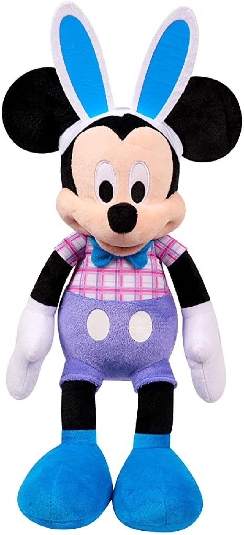 ihocon: Disney Easter 19-Inch Mickey Mouse Large Plush, Amazon Exclusive 迪士尼復活節米老鼠玩偶