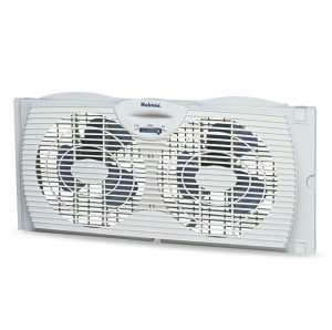 ihocon: Holmes Window Fan with with Twin 6-Inch Reversible Airflow Blades, White 可逆氣流窗扇