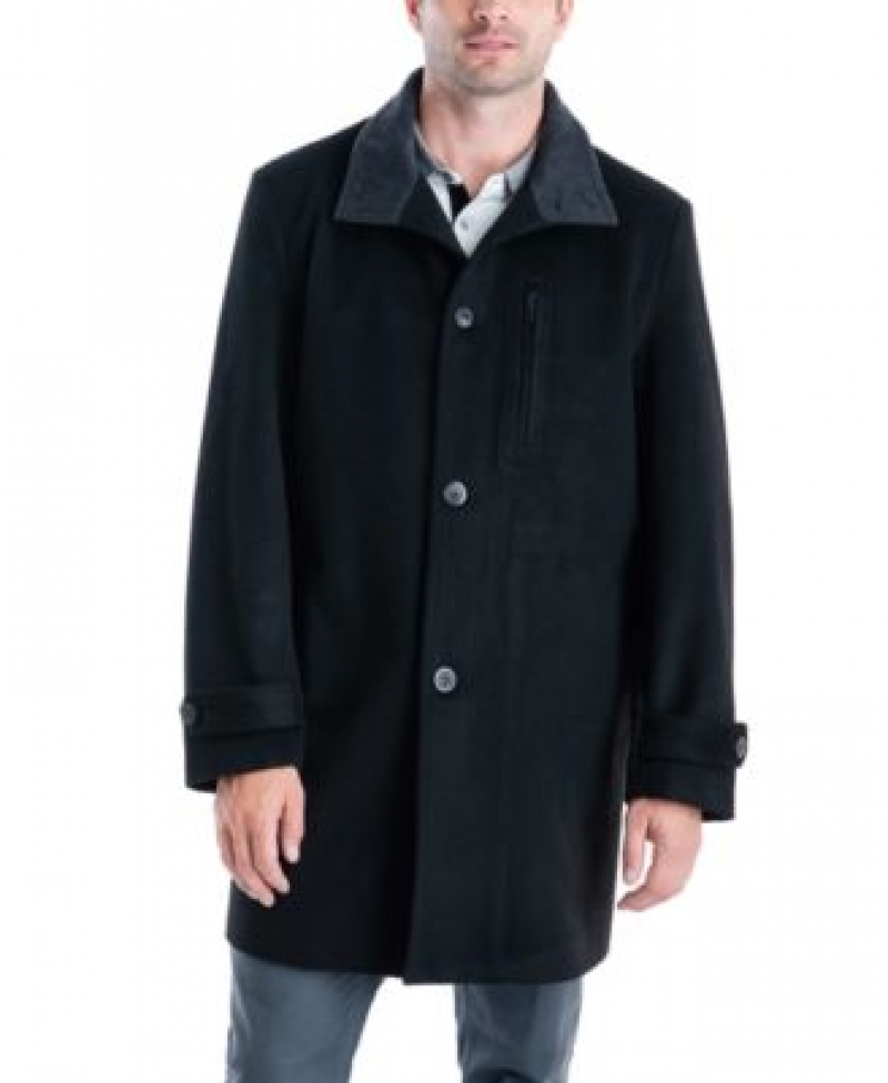 ihocon: London Fog Men's Clark Classic-Fit Overcoat 男士大衣