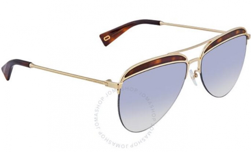 ihocon: [男, 女均適用] Marc Jacobs Blue Gradient Aviator Unisex Sunglasses太陽眼鏡