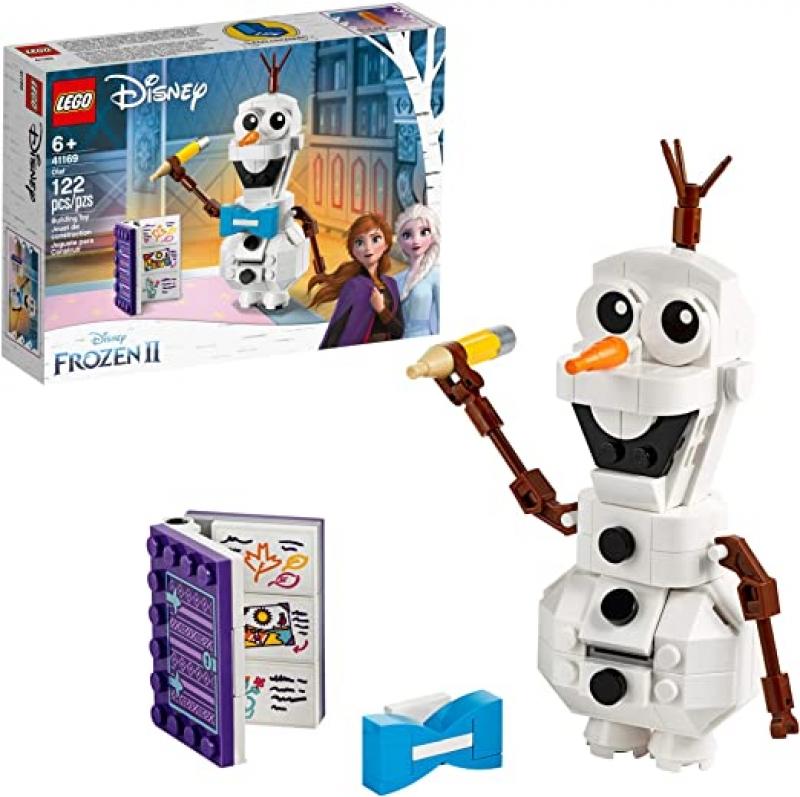 [新低價] 樂高迪士尼冰雪奇緣LEGO Disney Frozen II Olaf 41169 (122 Pieces) $8.95(原價$14.99)