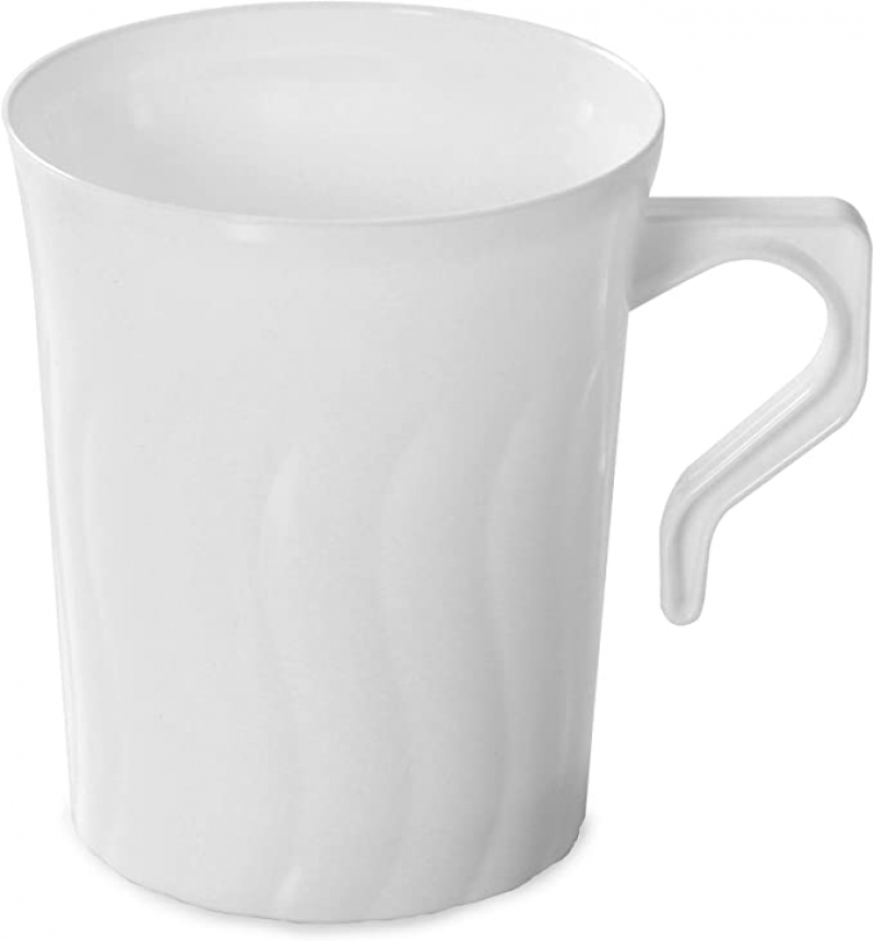 ihocon: FineLine Settings Coffee Mugs - 8 oz, Pack of 8 咖啡杯