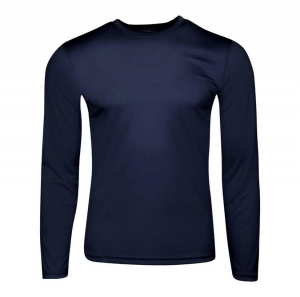 ihocon: Champion Mens Essential Double Dry Long Sleeve Tee 男士快乾長袖衫-多色可選
