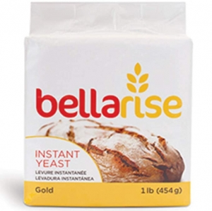 ihocon: Bellarise (Gold) Instant Dry Yeast - 1 LB Fast Acting Instant Yeast for Bread 速溶酵母