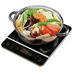 ihocon: Rosewill 1800 Watt Induction Cooker Cooktop , Included 10 3.5 Qt 18-8 Stainless Steel Pot 電磁爐, 含不銹鋼鍋