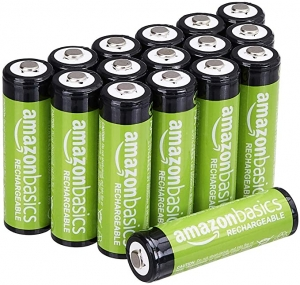ihocon: AmazonBasics AA Rechargeable Batteries (2000 mAh), Pre-charged - Pack of 16 充電電池