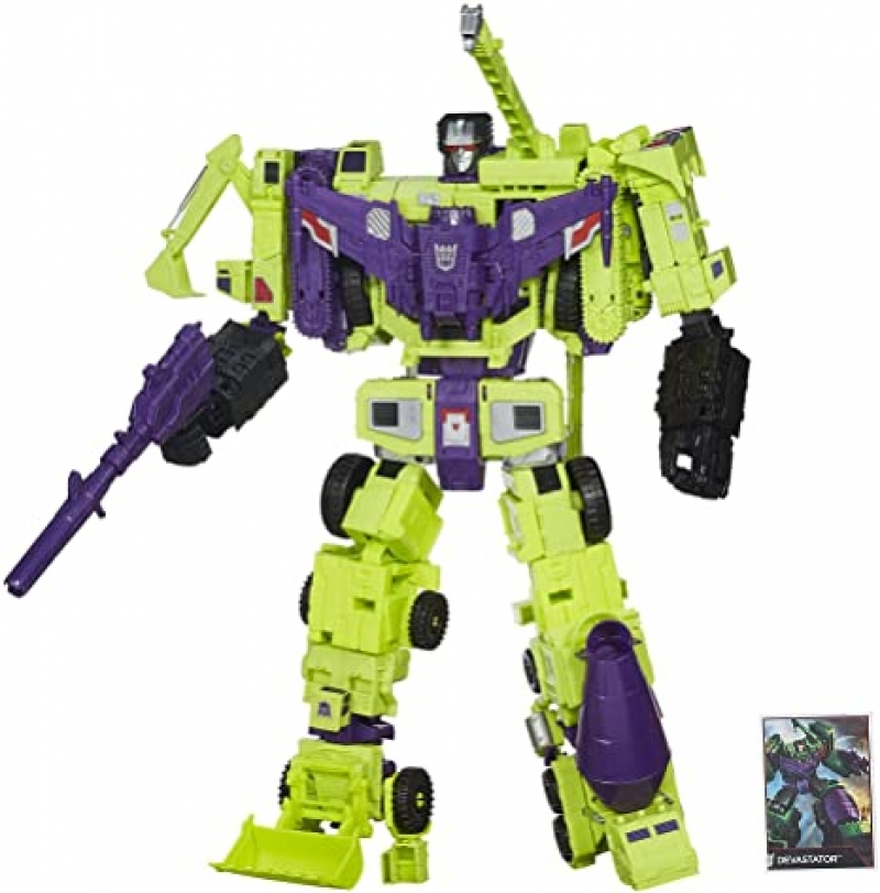ihocon: 變形金剛 Transformers Generations Combiner Wars Devastator Figure Set