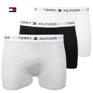 Tommy Hilfiger男士平角內褲 3件 $17.99(原價$42.50), 買多可再減價