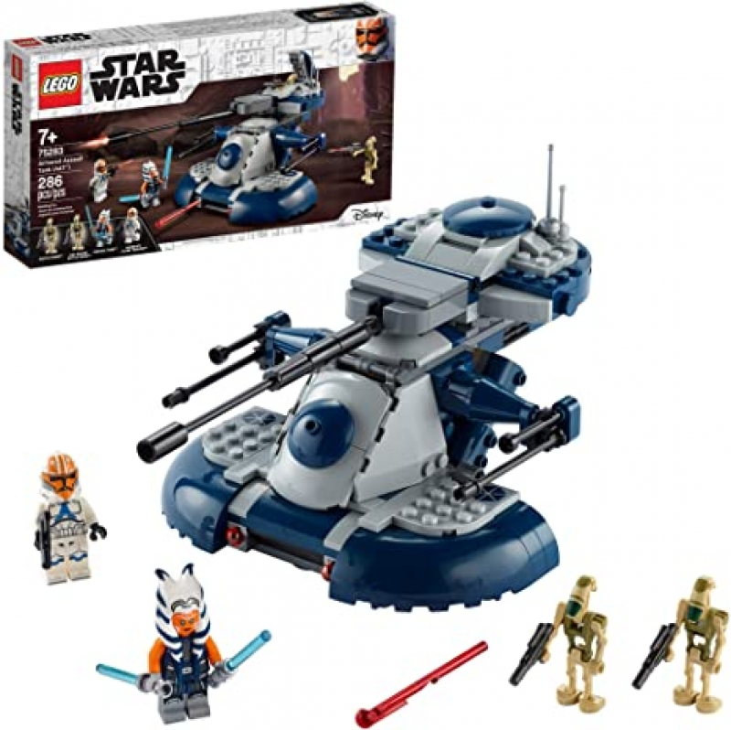 ihocon: [2020新款] LEGO Star Wars: The Clone Wars Armored Assault Tank (AAT) 75283 (286 Pieces) 樂高星球大戰積木
