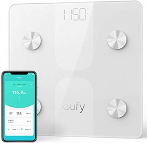 Eufy 藍芽智能體脂體重秤 $16.99(原價$29.99)