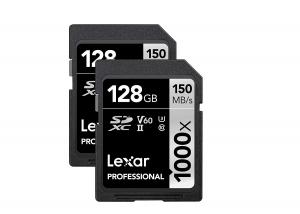ihocon: Lexar 128GB Professional 1000x UHS-II SDXC Memory Card (2-Pack) 記憶卡