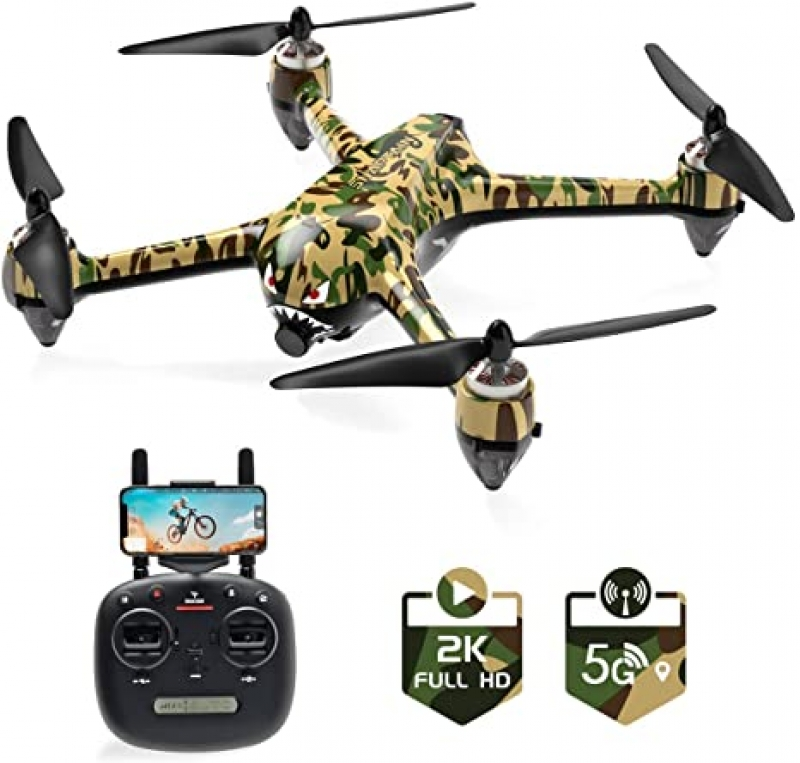 ihocon: SNAPTAIN SP700 5G WiFi FPV RC GPS Drone with Brushless Motor and 2K Camera Live Video 空拍無人機