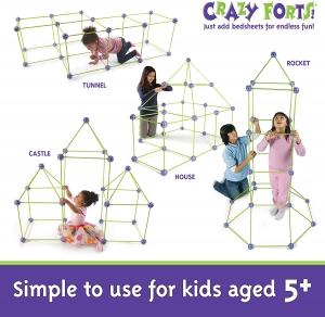 ihocon: Crazy Forts,Purple, 69 pieces