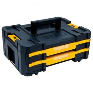 ihocon: DEWALT TSTAK Tool Storage Organizer, Double Drawers 雙抽屜工具箱