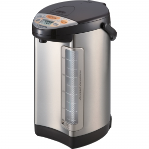 ihocon: Zojirushi CV-DCC50XT VE Hybrid Water Boiler & Warmer, 5.0 Liter, Stainless Dark Brown, Made in Japan 象印熱水瓶
