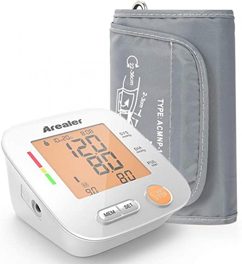 ihocon: Arealer Blood Pressure Monitor Upper Arm 上臂血壓計