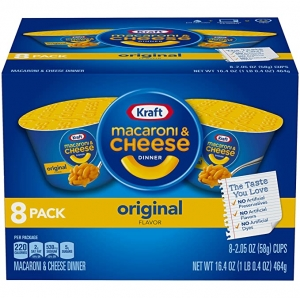 ihocon: Kraft Original Macaroni & Cheese Dinner (2.05 oz Cups, 8 Count)